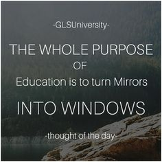 #Education #ThoughtOfTheDay #GLSUniversity