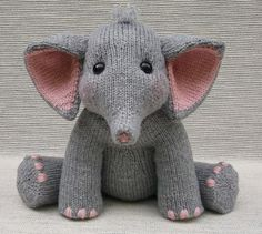 Knit Baby Elephant