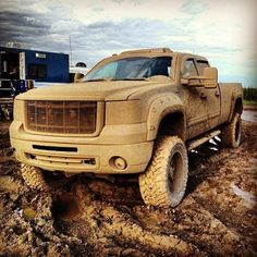 Mudding with lifted chevy truck - - Yahoo Image Search Results Jacked Up Chevy, Lifted Chevy Trucks, Gm Trucks, Cool Trucks, Pickup Trucks, Muddy Trucks, Lifted Dodge, Chevy Silverado, Diesel Trucks