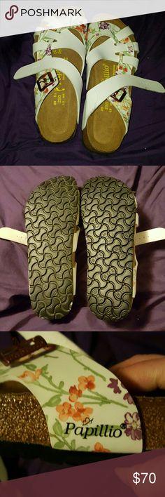Birkenstock Papillio Flora Pisa New never worn sandals. Cute but not my style. Birkenstock Shoes Sandals