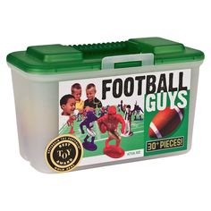 Kaskey Kids Football Guys - Red and Blue