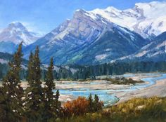 Canadian Artist Jean Geddes is a featured artist at the mountain galleries at the fairmont. Jean's paintings are available. Canadian Painters, Canadian Artists, Landscape Quilts, Landscape Paintings, Landscapes, Drawing Sketches, Drawings, Magic Realism, Mountain Landscape