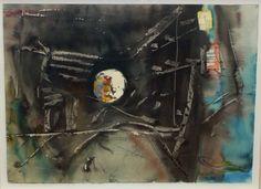 Untitled, 2013 Mix technique on paper 56 x 76 cm
