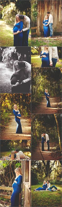 Maternity Portrait outdoor session. Maternity photo ideas. Click the image to see more by Jacksonville FL Matenity Portrait Photographer Melody Coarsey Photography