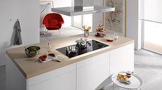 Hottes aspirantes Cooker Hoods, Kitchen Ventilation, Table, Furniture, Kitchen Stuff, Home Decor, Stylish, Image, Miele Kitchen