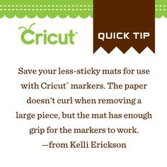 Do you use Cricut markers? This tip is for you!