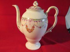 Royal Albert Teapot Unnamed Pattern Registered No 749633 1920s or 40s | eBay