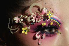Mao Geping Makeup at Mercedez-Benz China Fashion Week Fall 2013