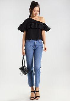 ¡Cómpralo ya!. Noisy May NMMELLA Blusa black. Noisy May NMMELLA Blusa black Ropa | Material exterior: 100% algodón | Ropa ¡Haz tu pedido y disfruta de gastos de enví-o gratuitos! , blusas, blusa, blusón, blusones, blouses, blouse, smock, blouson, peasanttop, blusen, blusas, chemisiers, bluse. Blusas de mujer color negro de Noisy may.