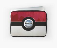 Red Pokeball Laptop Sleeves #case #cover #laptopsleeve #laptop #sport #gameboy #gamecube #gamecontroller #nintendo #sega #playstation #ps #ps1 #ps2 #ps3 #ps4 #retro #vintage #Pokemon #pokeball #pikachu #gengar #pokedex #monster #duelmonster #Mystic #Instinct #Valor #Articuno #Zapdos #Moltres #cartoon