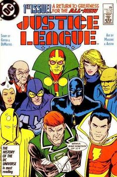 Justice League #1 - Born Again