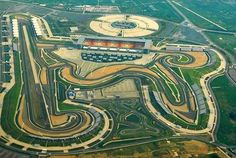 Chinese Grand Prix Aerial View