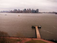 View from Statue Of Liberty