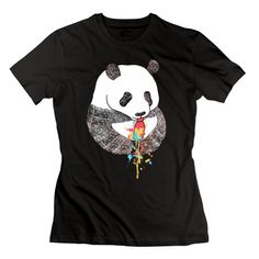 Pandas Love Ice Cream Woman Cosie T Shirt Funny T Shirts T Shirt -- Awesome products selected by Anna Churchill