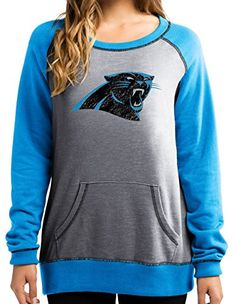 "Carolina Panthers Women's Majestic NFL ""O.T. Queen"" Frenc…"