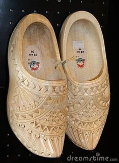 Wooden Shoes for wedding, Amsterdam, Holland by Singhsomendra, via Dreamstime