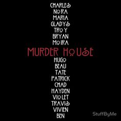 AHS Murder House Victims