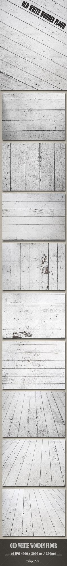Old White Wooden Floor | Urban Textures | TanyDi Boutique Design Studio
