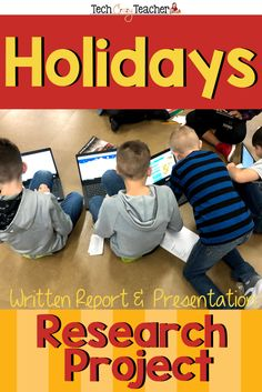 Holiday Research Project and Presentation 21st Century Schools, 21st Century Learning, Language Activities, Classroom Activities, Spring Activities, Teaching Grammar, Teaching Social Studies, Reading Resources, Teacher Resources
