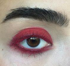 Bold red eye @nadineartistry