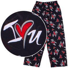 Valentine's Day Red Kisses Pajama Pants for Men - $17.99 ...