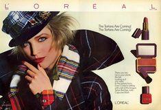   bonnie berman loreal ad 1985 scan justaguy
