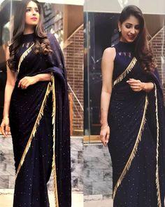 Designer net work party wear sarees shopping online in uae Sari Design, Sari Blouse Designs, Saree Blouse Patterns, Black Saree Designs, Trendy Sarees, Stylish Sarees, Fancy Sarees, Party Wear Sarees, Saree Designs Party Wear