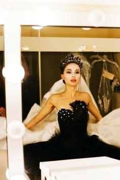Natalie Portman....in the film .....Black Swan