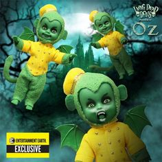Mezco The Wizard of Oz Flying Monkeys Living Dead Dolls EE Exclusive Sold Out! Humanoid Creatures, Living Dead Dolls, Barbie, Sexy Geek, Season Of The Witch, Flying Monkey, Wicked Witch, Monster High Dolls, Designer Toys
