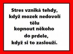 Vtipné texty (strana - Co se jinam nehodí - Diskuze The Words, Jokes Quotes, Funny Quotes, My Life Quotes, Monday Motivation, Funny Texts, Quotations, Haha, Stress