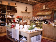 The Plaaswinkel (Farm Shop) at the La Motte Wine Estate. Interior Design by Christiaan Barnard, shopfitting and joinery by Pierre Cronje.