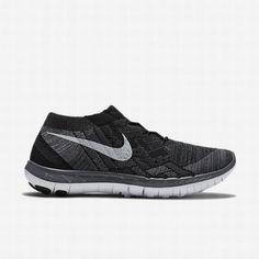 be487ffd8b $109.42 nike flyknit free 3.0 white,Nike Womens Black/Anthracite/Dark Grey/ White Free 3.0 Flyknit Running Shoe