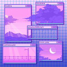Aesthetic Gif, Purple Aesthetic, Retro Aesthetic, Aesthetic Backgrounds, Aesthetic Pictures, Aesthetic Wallpapers, Flower Aesthetic, Vaporwave Wallpaper, Pastel Anime