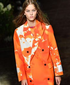 With help from brands like Balmain, Proenza Schouler, Prada and more, tie-dye is majorly in style. Celebrity Closets, Celebrity Style, Tweed Dress, Tie Dyed, Wide Leg Jeans, Proenza Schouler, Balmain, Designer Handbags, Designer Shoes