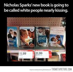ha but I love his books!! :)