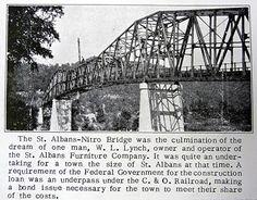 St Albans-Nitro Bridge by WV.Hillbilly, via Flickr