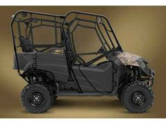 New 2015 Honda Pioneer 700-4 ATVs For Sale in West Virginia. The Side-By-Side With A Difference Americans appreciate versatility. Give us a multi-tool and a little baling wire, and we can fix just about anything. That's the spirit behind Honda's Pioneer 700-4, the most versatile side-by-side on the planet. It'll take you just about anywhere a side-by-side can go—along with one, two or three other passengers or a bed full of cargo. You're going to find it makes life and work a whole lot…
