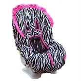 http://may3377.blogspot.com - zebra and pink car seat cover