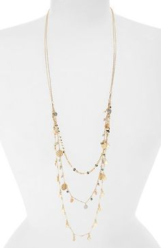 BP.+Triple+Row+Beaded+Layering+Necklace+available+at+#Nordstrom