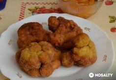 Rántott karfiol előfőzés nélkül | NOSALTY Tapas, Cauliflower, Food And Drink, Chicken, Meat, Vegetables, Ethnic Recipes, Google, Cauliflowers