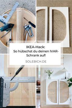 Diy Furniture Table, Ikea Furniture Hacks, Ikea Hacks, Furniture Makeover, Ivar Ikea Hack, Repurposed Furniture, Ivar Regal, Diy Home Accessories, Creation Deco