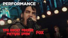 Hot Patootie ft. Adam Lambert   THE ROCKY HORROR PICTURE SHOW - YouTube Adam SLAAAAAAAYS in this
