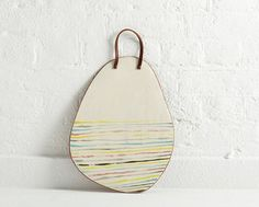 Painted Terracotta Tableware by Silvia K Ceramics for The New Craftsmen