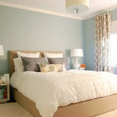 """benjamin Moore + Lookout Point Design Ideas, Pictures, Remodel and Decor"