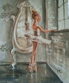 "Buy "" IN THE LIGHT II ""- ballerina liGHt ballet ORIGINAL OIL PAINTING, GIFT, PALETTE KNIFE, Oil painting by Monika Luniak on Artfinder. Discover thousands of other original paintings, prints, sculptures and photography from independent artists."