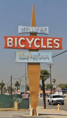 Coates Bicycles - Pomona, CA Vintage Stuff, Vintage Ads, Vintage Photos, Pomona California, San Dimas, My Town, Googie, The Good Old Days, Ocean Life