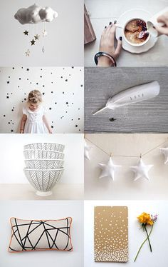 *** by Katie Housley on Etsy--Pinned with TreasuryPin.com   Featuring my star garland! #etsyfinds