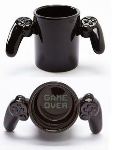 Game Controller Coffee Mug Cute Coffee Mugs, Cool Mugs, Coffee Cups, Geek Decor, Game Room Design, Cute Cups, Gamer Room, Cool Inventions, Game Controller