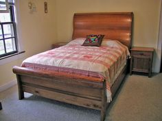 1000 Ideas About Cherry Sleigh Bed On Pinterest Sleigh