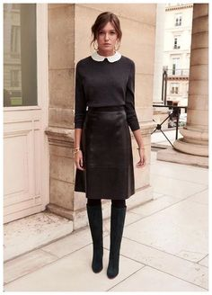 50 Modern Skirt Outfits Ideas That Suitable For Fall 50 Modern . - - 50 Modern Skirt Outfits Ideas That Suitable For Fall 50 Modern … Hei 50 Modern Skirt Outfits Ideas That Suitable For Fall 50 Modern Skirt Outfits Ideas That Suitable For Fall A Line Skirt Outfits, Maxi Skirt Outfits, Winter Skirt Outfit, Long Black Skirt Outfit, Work Fashion, Skirt Fashion, Fashion Outfits, Womens Fashion, Fashion Ideas
